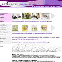 Homepage von Just-Fotodesign