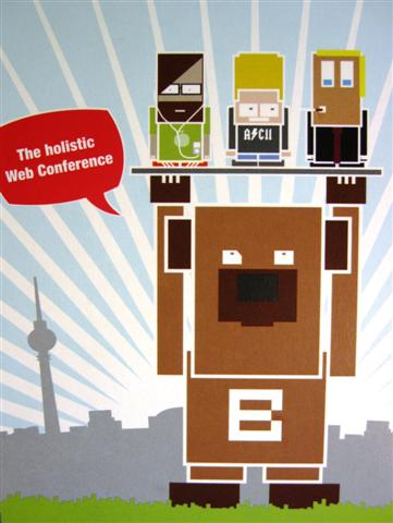 2010 in Berlin: Die Webinale - The holistic Web Conference
