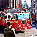 Online-Text: warten Sie nicht bis es zu spät ist und Sie die Feuerwehr brauchen.